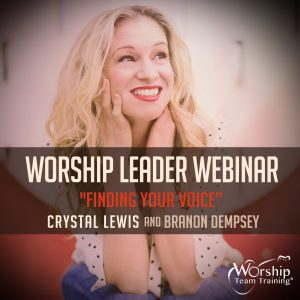 Crystal Lewis Webinar | July 26, 2017 @ 2:00 pm