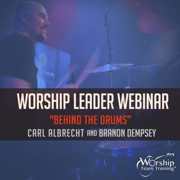 """""""Behind The Drums"""" Carl Albrecht Webinar"""