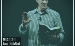 "David Manner   ""Worship Leader Pharisee"" 2-22-18"