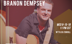 Branon Dempsey / Brown Bag Wednesday Music Special!  8-15-18