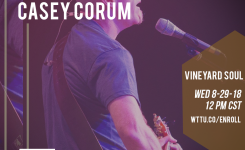 Vineyard Soul by CASEY  CORUM/ Brown Bag Wednesday Music Special!