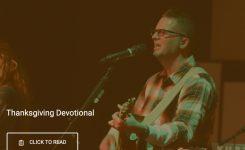 Branon Dempsey / Thanksgiving Devotional