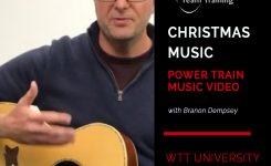 Easy Christmas Acoustic Guitar / Power Train